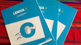 Cuadernillos Lengua 4° Primaria Ed. Anaya.