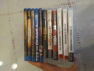 Juegos PS3 + Peliculas Blu-ray