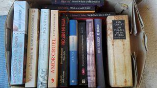 varios libros, por separado o en conjunto