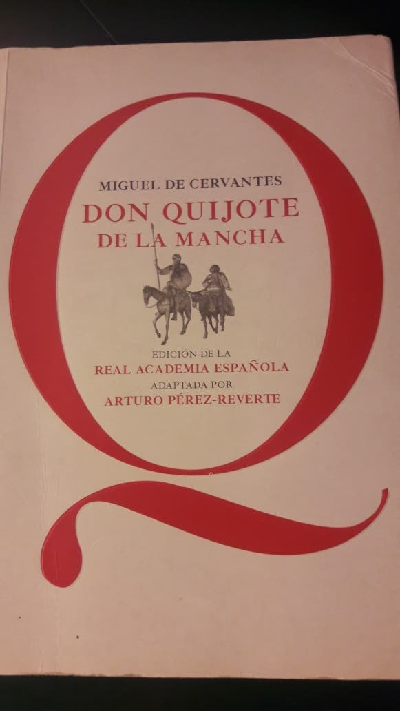DON QUIJOTE DE LA MANCHA de Arturo Pérez-Reverte