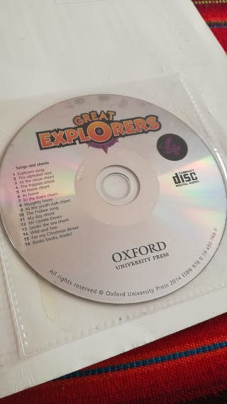 Great Explorers Class Book 4 Oxford