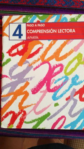 Paso a paso Comprensión Lectora 4 Ed. Anaya