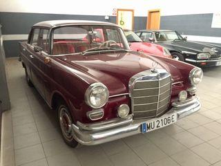 mercedes-benz colas 200D 1966 clasico