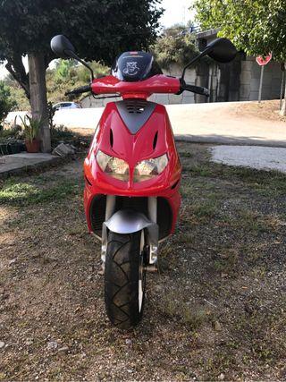 Scoter 50cc retificada a 74