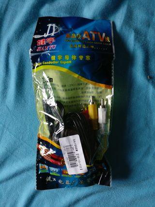 Cable RCA minijack