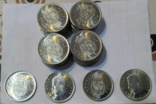 Monedas de 50 Pesetas 1975