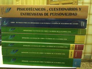 libros de oposición de la guardia civil
