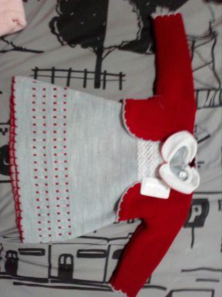 vestido lana