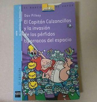 El Capitán Calzoncillos y la invasión...