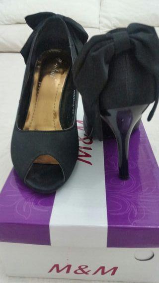 Zapatos Mujer Fiestas Segunda Color Número Negro 36 De Mano PkZuwOiXT