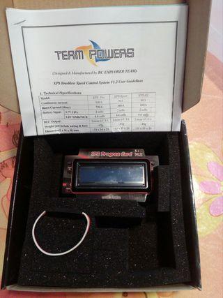 team powers tarjeta programadora