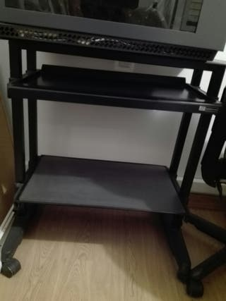 Mesa ordenador metalica