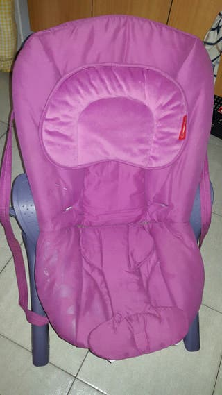 hamaca rosa bebe