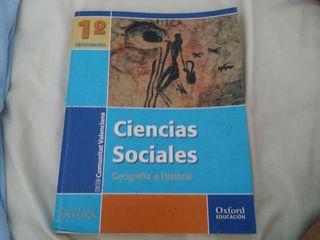 Libro ciencias sociales 1 ° secundaria