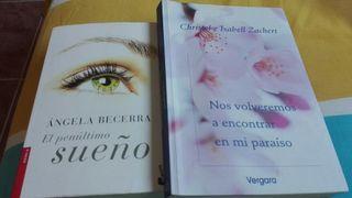 Libro lectura. lote de 2-libros (15€)