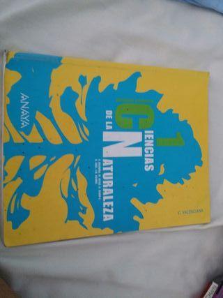 Libro ciencias de la naturaleza 1°ESO