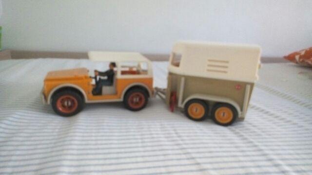 Land Rover Y Caravana Para Transportar Caballos Y De Segunda Mano