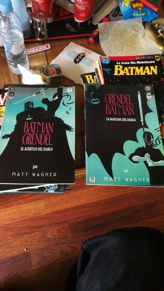 Comic BATMAN Y GRENDEL - EL ACERTIJO DEL DIABLO
