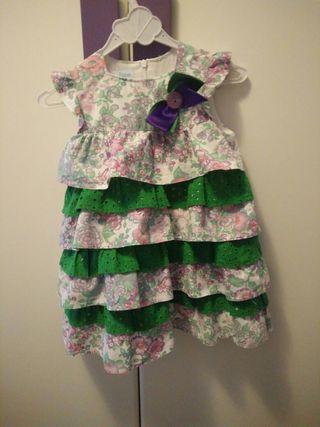 vestido niña talla 3-4 años