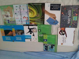 Libros de 2° de la ESO