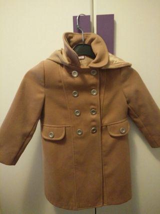 abrigo niña talla 4 años