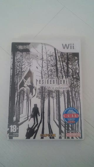 Resident Evil 4 Wii Edition impecable