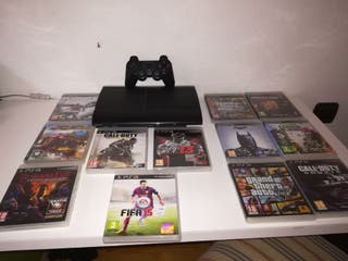 PS3 SUPERSLIM 500GB/ PlayStation 3