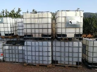 bidones de 1000 litros