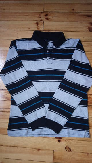 Polo à rayures taille XL