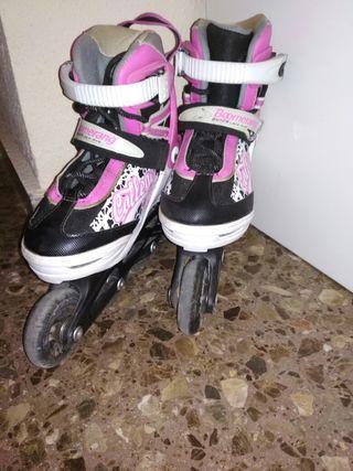 patines linea extensible niños