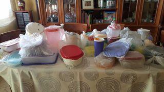 Fiambreras de tupperware