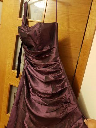 Vestido largo talla 40
