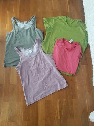 Lote ropa deportiva Talla M