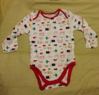 Pack 5 bodies niño 1-2 años
