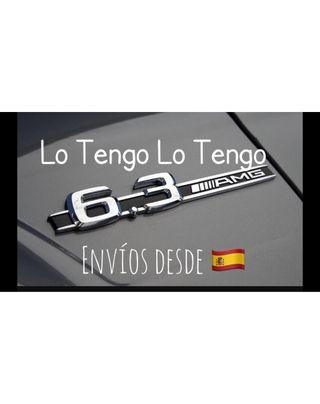 Emblema Logo Mercedes Benz AMG 6.3