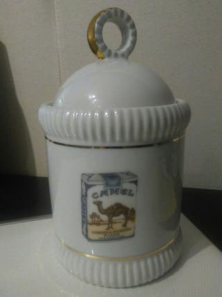 Bote tabaco porcelana francesa Limoges