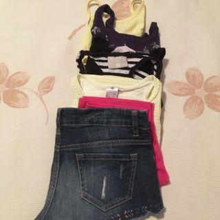Camisetas y pantalones