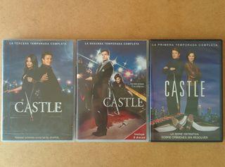 DVDs serie CASTLE