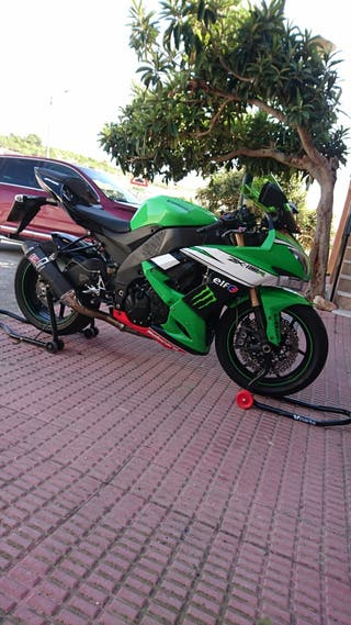 moto de carretera zx10r