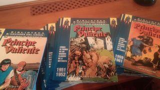 Cómics.Colección Príncipe Valiente completa.