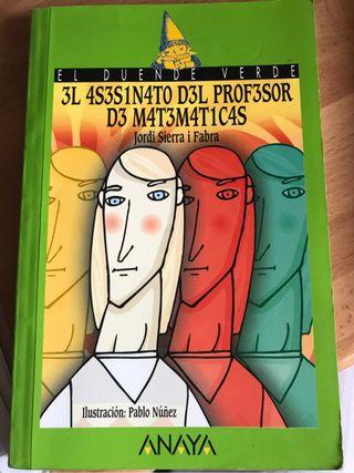 Libro:El asesinato del Profesor