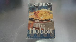 libro the hobbit 1975 en inglés