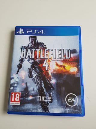 Battlefield 4 juego ps4