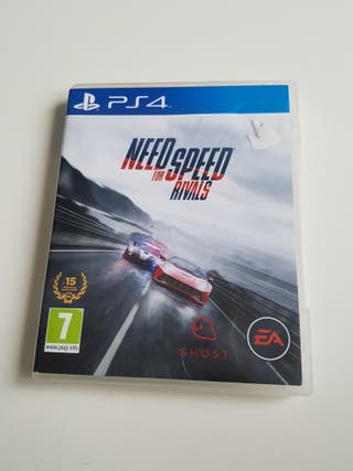 nedd for speed for rivals juego ps4