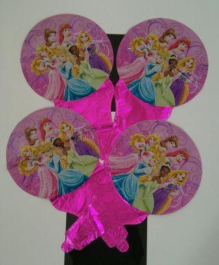 Lote globos Princesas Disney
