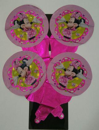 Lote globos Minie Mouse
