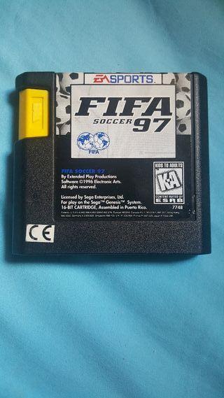 Fifa 97 Sega Megadrive