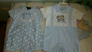 lote 2 trajes de bebé