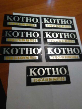 Placas de KOTHO