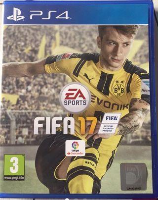 """""""Oferta Navidades""""FIFA 17 ps4,como nuevo"""